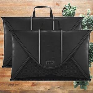 """Handbags - Travel Packing Folder 15"""" Garment Sleeves Black"""